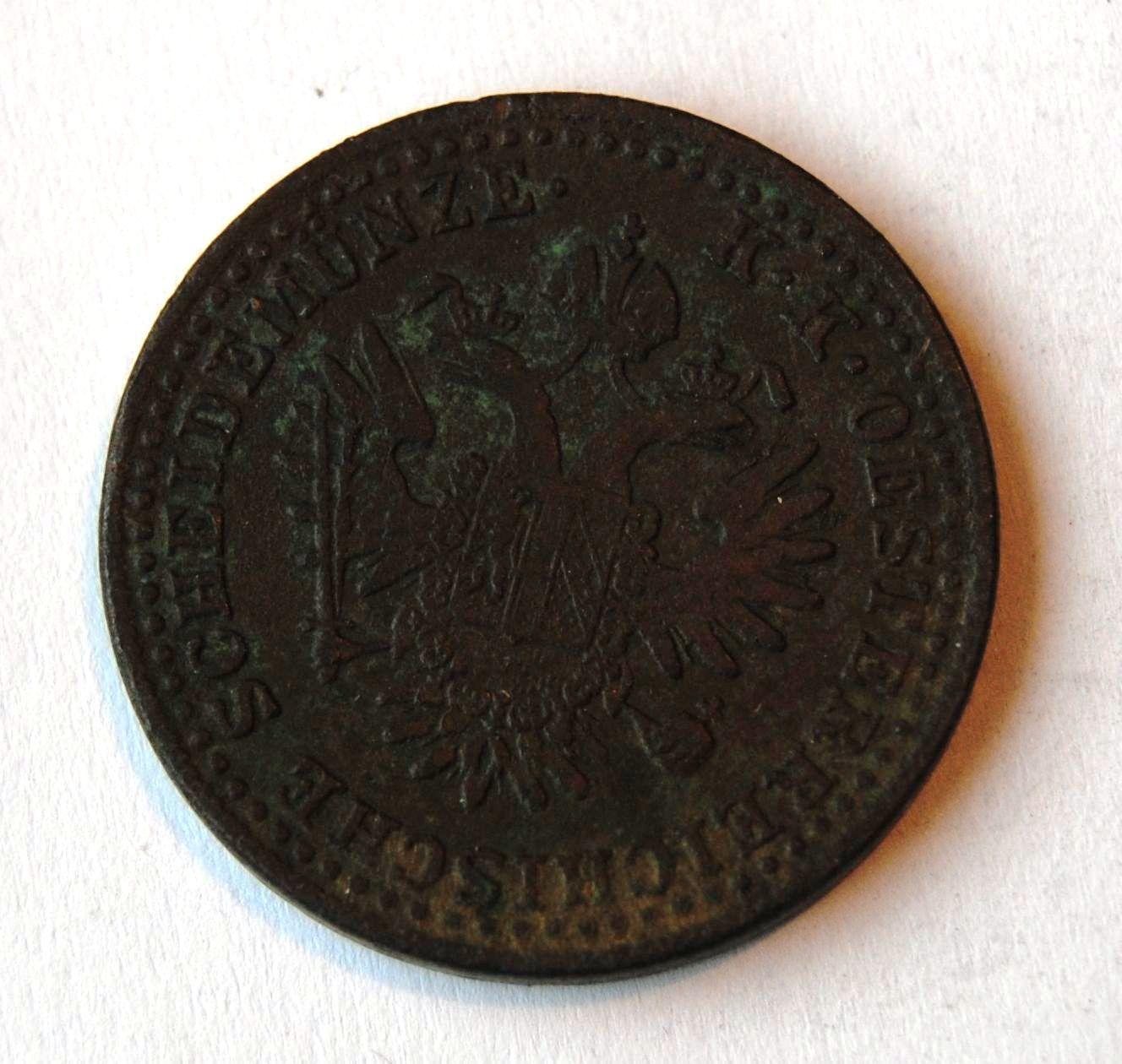 Rakousko 2 Krejcar 1851 A, STAV!