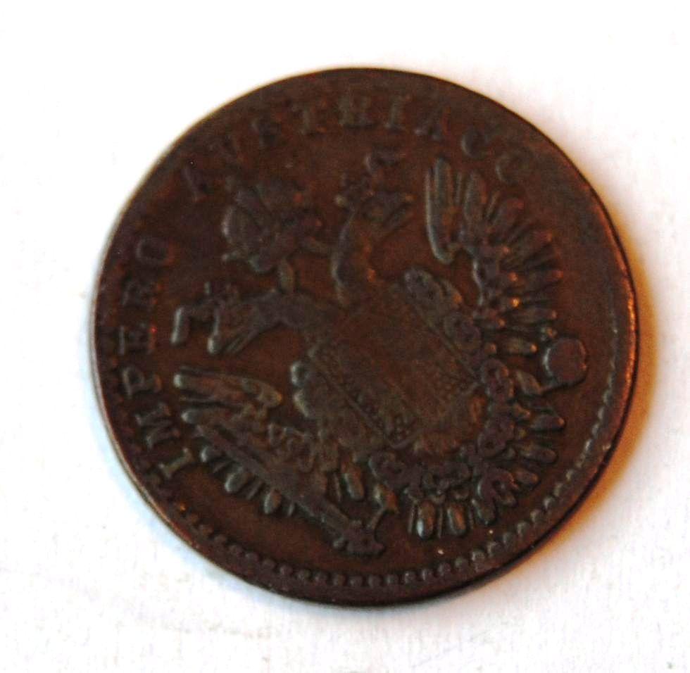 Rakousko 3 Centesimi 1852 V