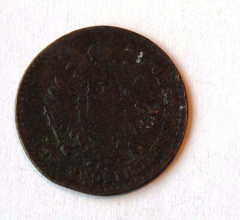 Rakousko 5/10 Krejcar 1860 V