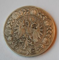 Rakousko 5 Korun 1900
