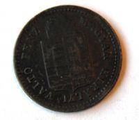 Uhry 1 Krejcar 1882 KB