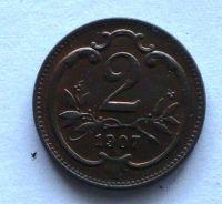 Uhry 2 Haléř 1906