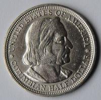 USA 1/2 Dollar 1893 Kolumbovský výstava