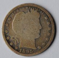 USA 1/4 Dol. 1895