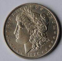 USA 1 Dollar 1886 STAV