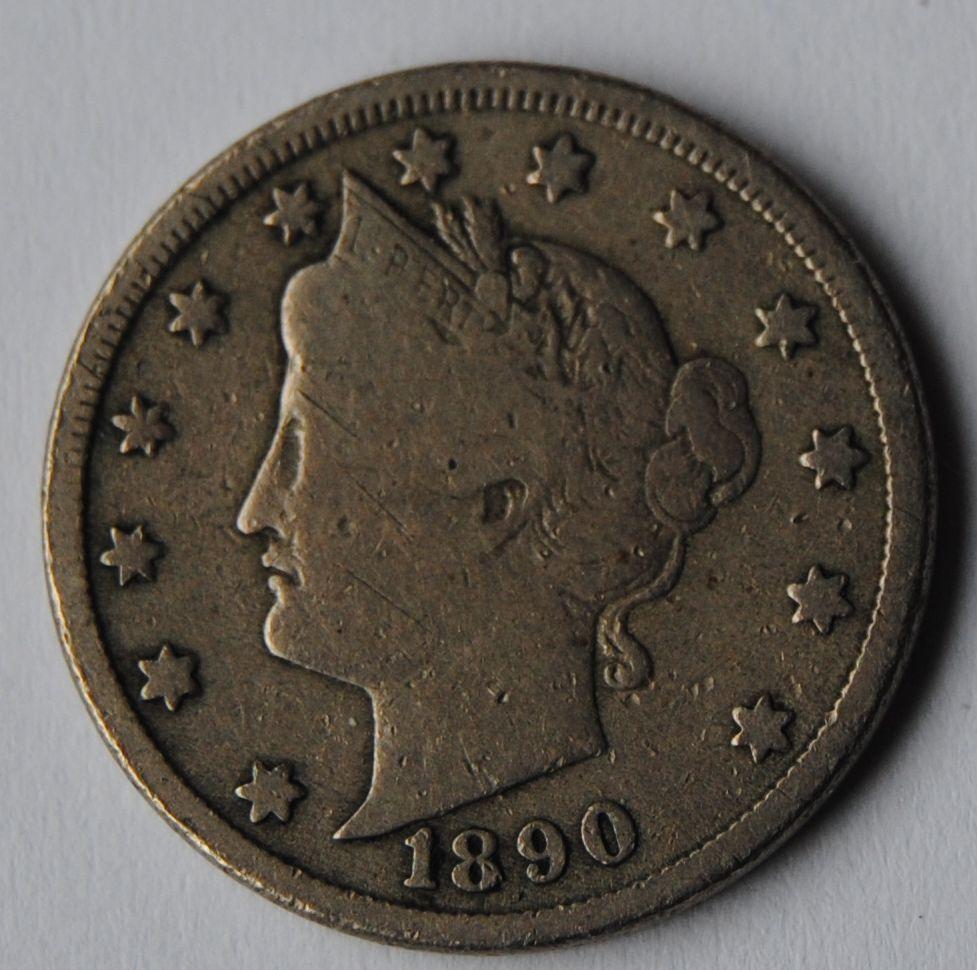 USA 5 C 1890