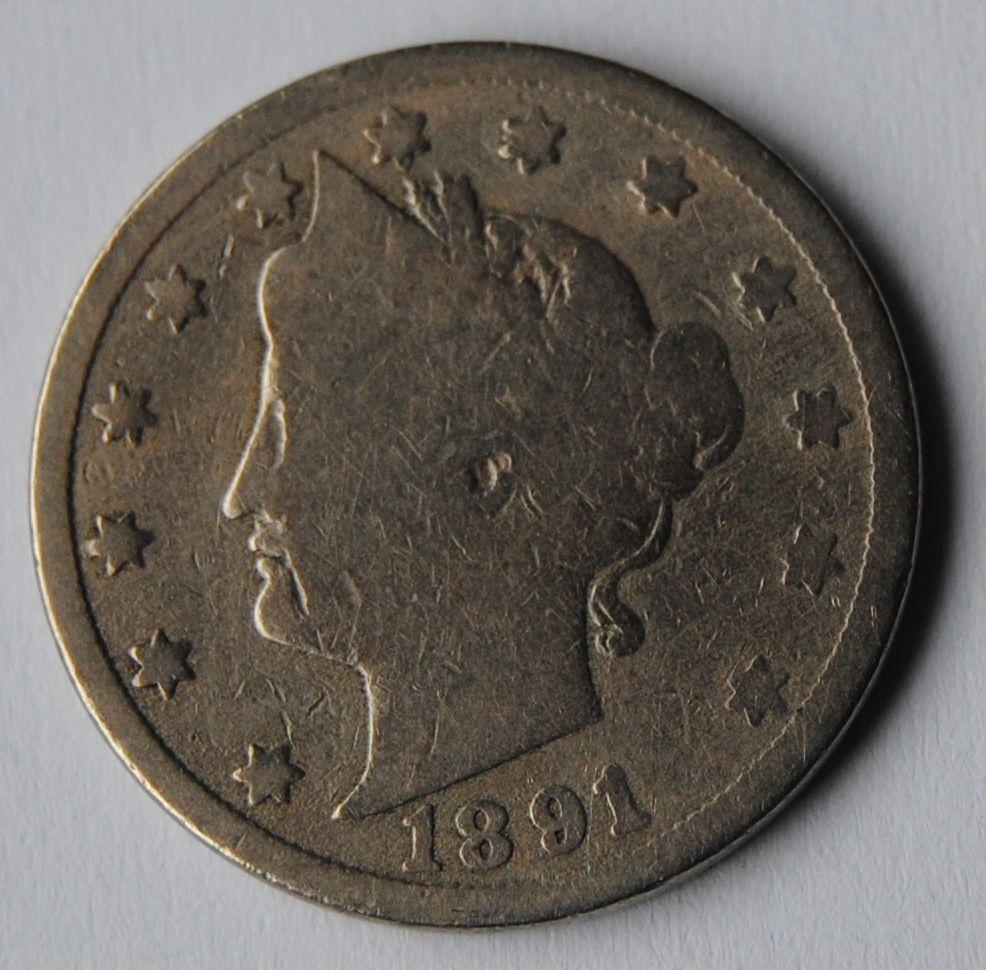 USA 5 C 1891