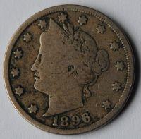 USA 5 C 1896