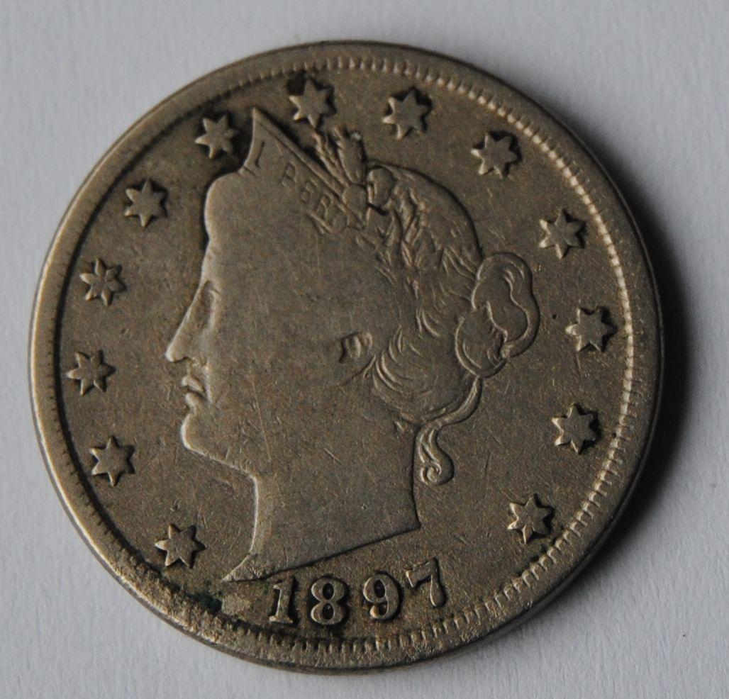 USA 5 C 1897