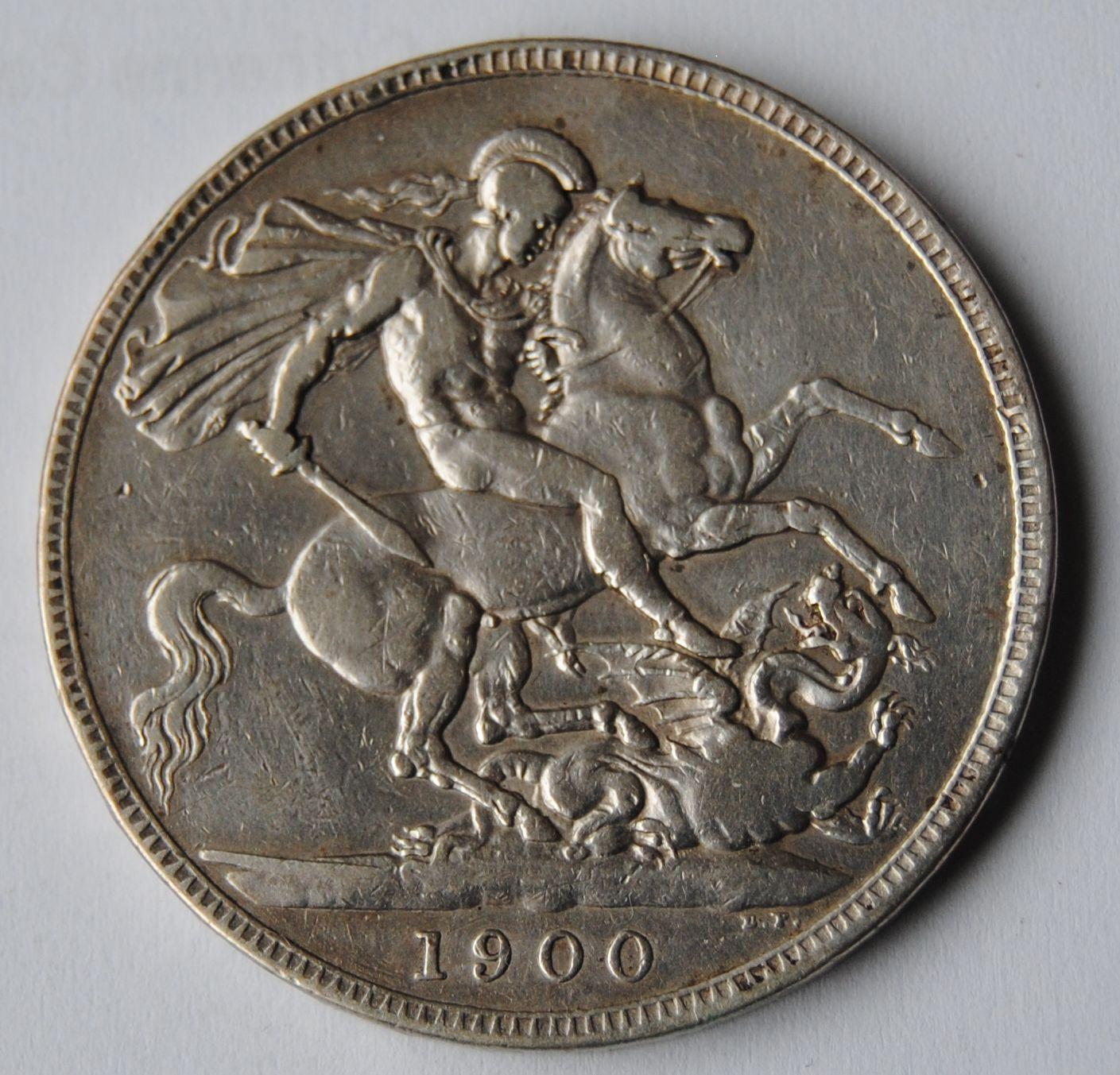 V.Británie 1 Cronen 1900 Viktorie