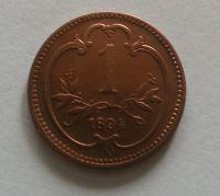 1 Haléř, 1894, Rakousko, STAV