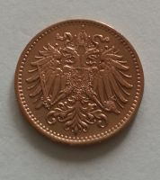 1 Haléř, 1900, Rakousko, STAV