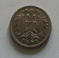 10 Haléř, 1893, Rakousko