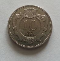 10 Haléř, 1895, Rakousko