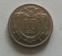10 Haléř, 1909, Rakousko STAV