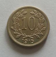 10 Haléř, 1915, Rakousko, STAV