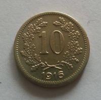 10 Haléř, 1916, Rakousko, STAV