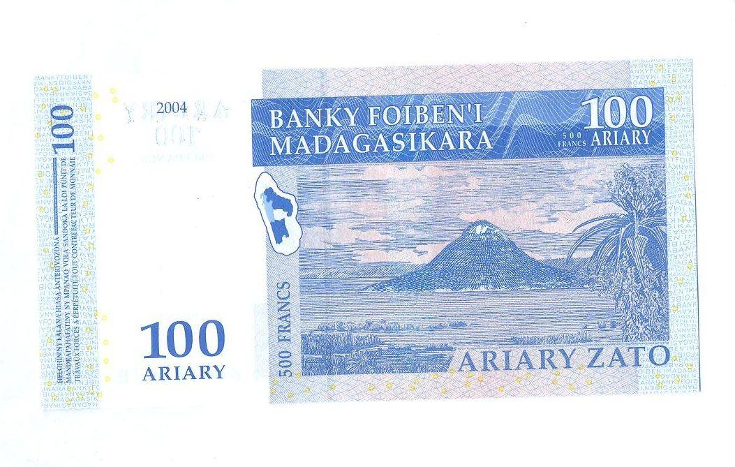 100 Ariary, 2004, Madagaskar
