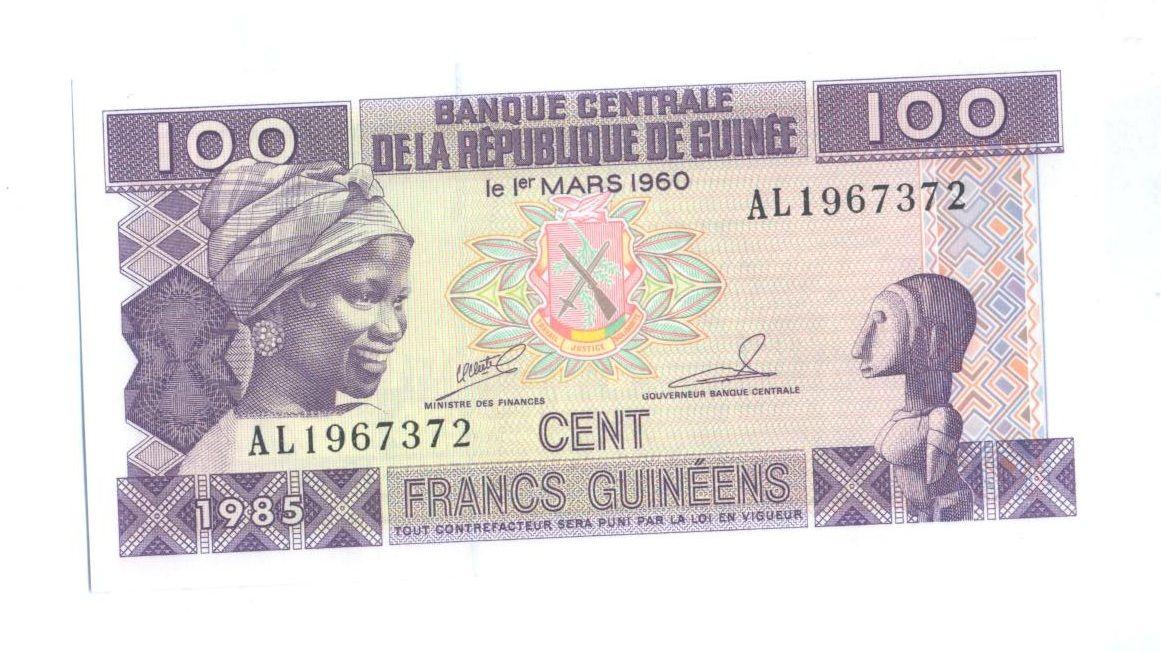 100 Cent, 1985, Guinea