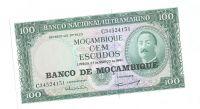 100 Escudos, 1961, Mozambik