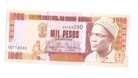 1000 Pesos, 1993, Guinea Bissan,