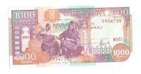 1000 Shilin, 1996, Somálsko