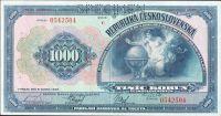 1000Kč/1932/, stav 1 perf. SPECIMEN, série C