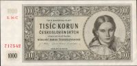 1000Kčs/16.5.1945/, stav 0, série 16 C
