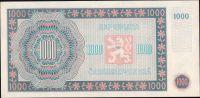 1000Kčs/16.5.1945/, stav UNC, série 28 B