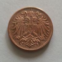 2 Haléř, 1894, Rakousko