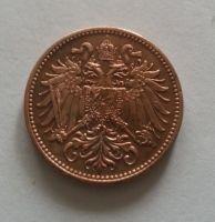 2 Haléř, 1895, Rakousko