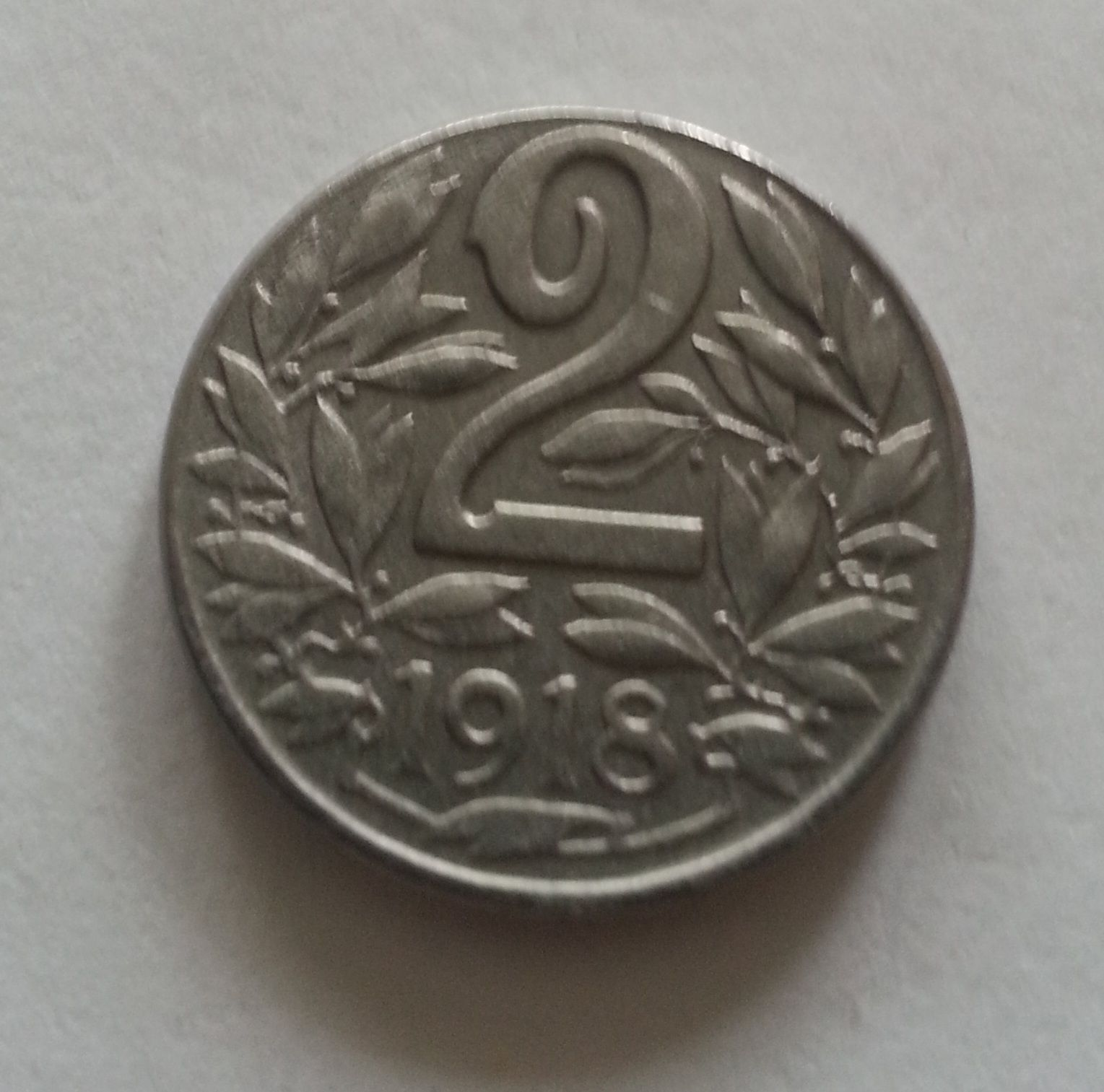 2 Haléř, 1918, Rakousko STAV
