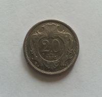 20 Haléř, 1893, Rakousko