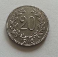 20 Haléř, 1916, Rakousko