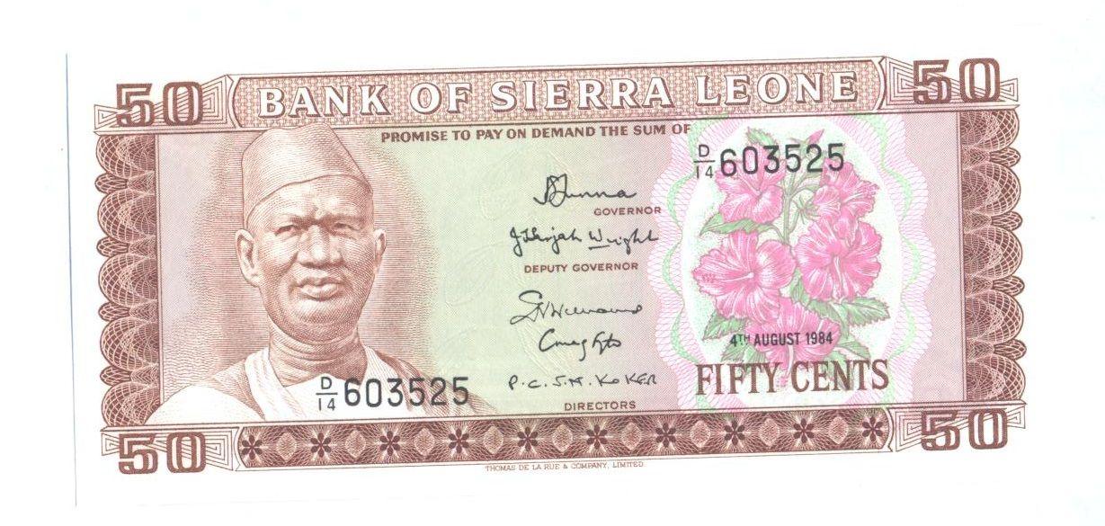 50 Cent, 1984, Sierra Leone