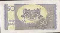 50Kčs/1945-bl/, stav 0, série JU