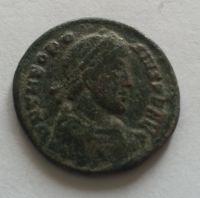 AE-4, Theodosius I., S:4088, 379-95, Řím-císařství