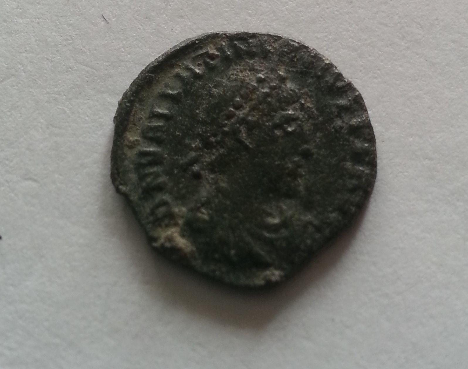 AE-4, Valentinianus II., 375-92, Řím-císařství