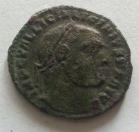 AE-FOLLIS, stojící Jupiter, Licinius I., 308-24, Řím-císařství