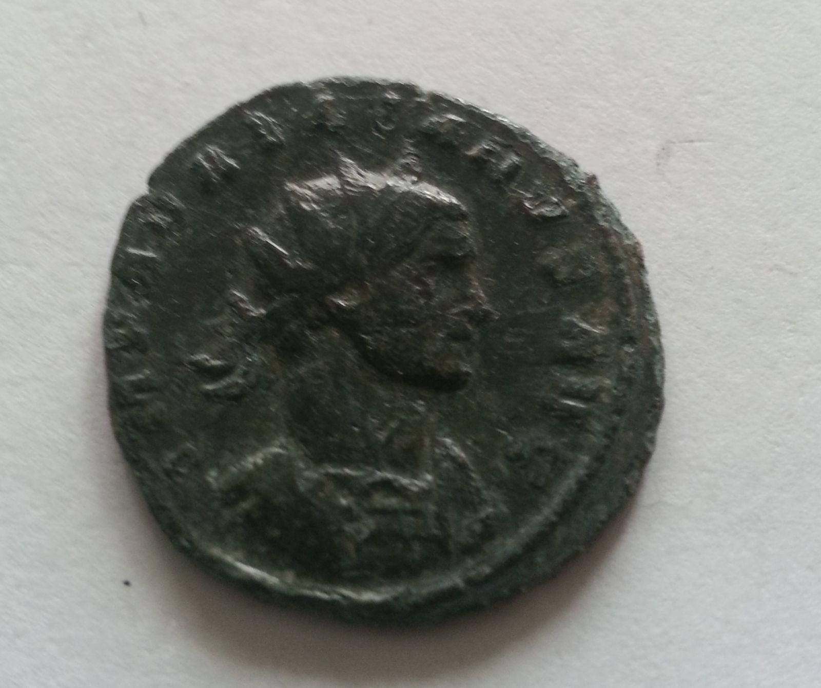 Antoninián, 2 postavy, Aurelianus, 270-75, Řím-císařství