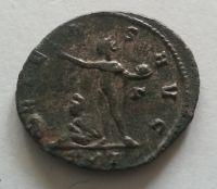 Antoninián, věštící bohyně, Aurelianus, 270-75, Řím-císařství
