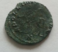 Billon Antoninián, APOLINI CONS AUG, Galienus, 253-68, Řím-císařství