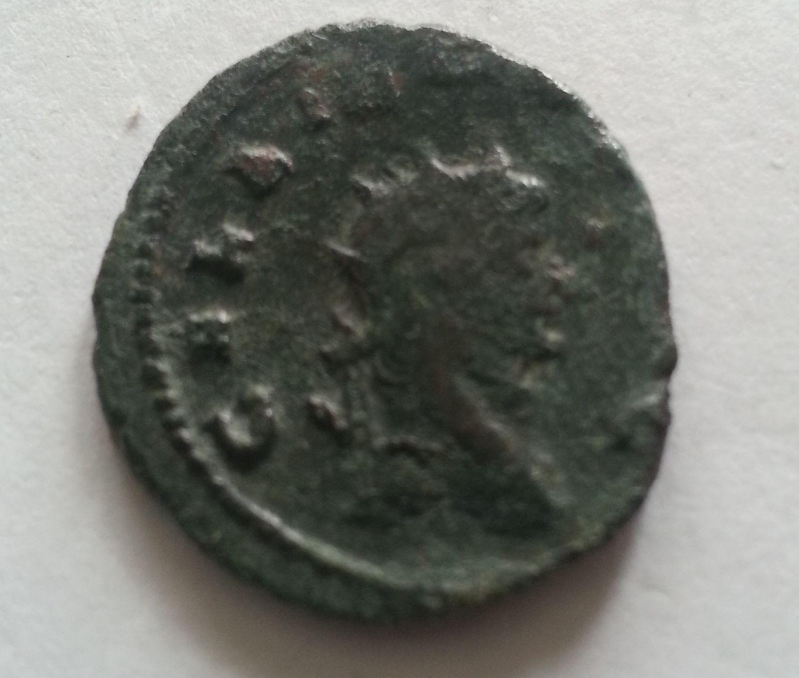 Billon Antoninianus, UBERITAS AVG, Galienus, 253-68, Řím-císařství