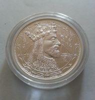 Karel IV., Ag medaile, (průměr 32 mm), ČR
