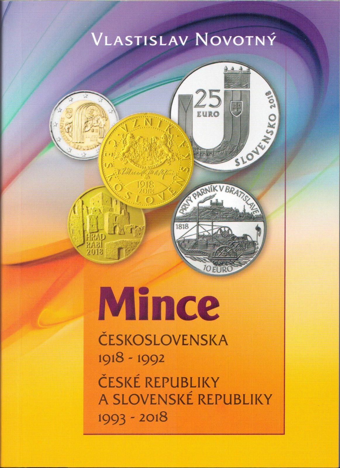 57dd116f4 Katalog a ceník mincí ČSR 1918-1992, ČR a SR 1993-2018