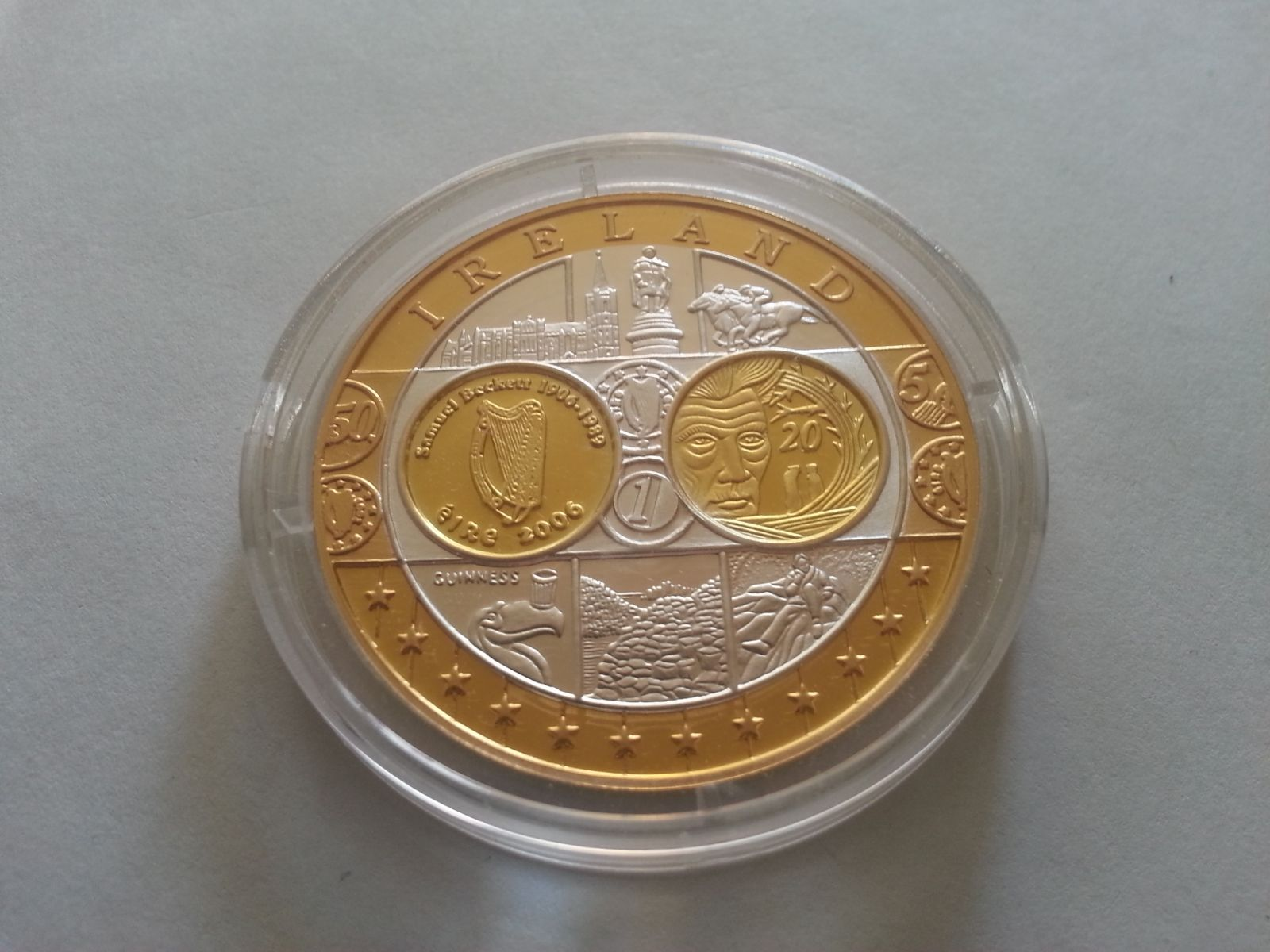na vstup Irska do EU, Ag medaile, Irsko