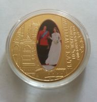 princ William+Kate, svatební medaile, 2011, Velká Británie