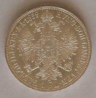 Rakousko 1 Fl 1859 A, STAV!