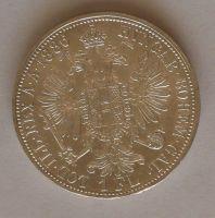 Rakousko 1 Fl 1886, STAV!