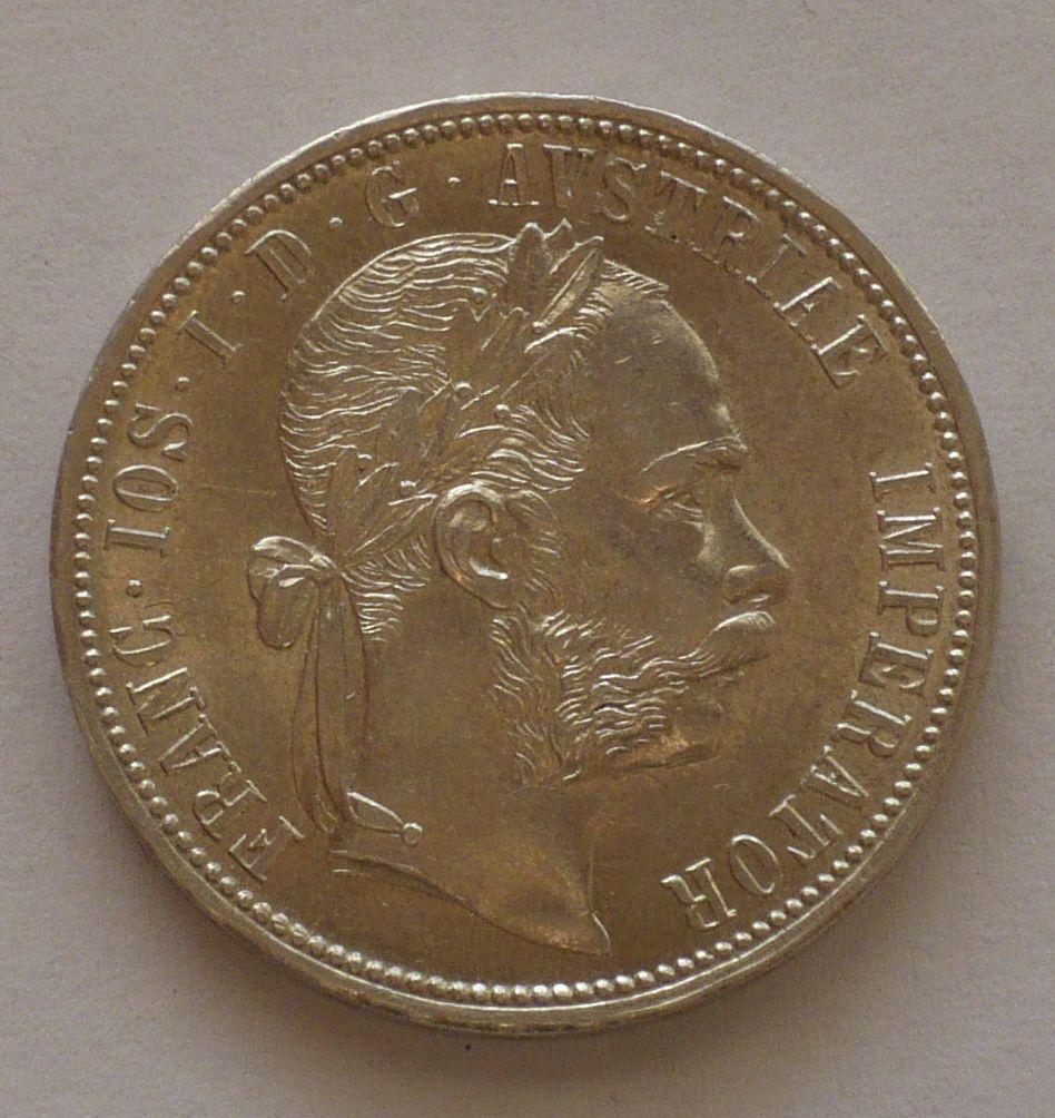 Rakousko 1 Fl 1888, STAV!